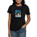 Yes We Can Speech Barack Obama Women's Dark T-Shir