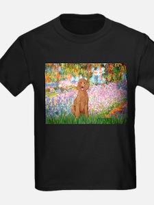 Garden/Std Poodle (apricot) T