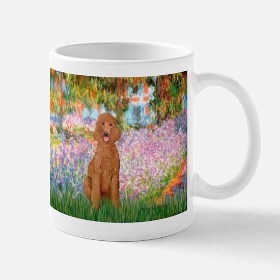 Garden/Std Poodle (apricot) Mug