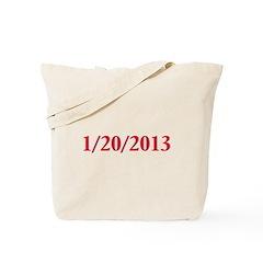 1/20/2013 - Obama's last day Tote Bag