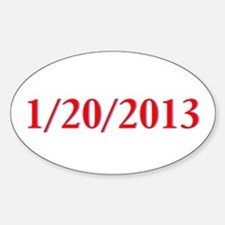 1/20/2013 - Obama's last day Oval Decal