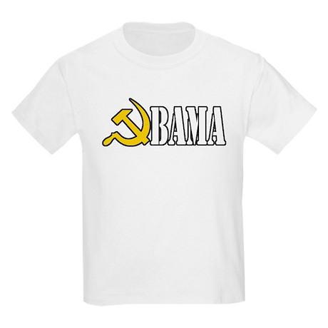 OBAMA - HAMMER AND SICKLE - C Kids Light T-Shirt