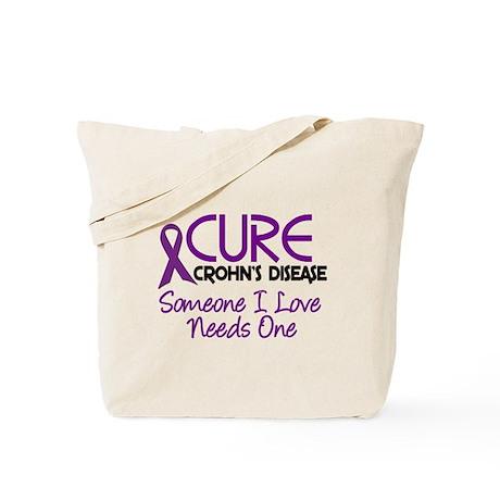 Cure Crohn's Disease 2 Tote Bag