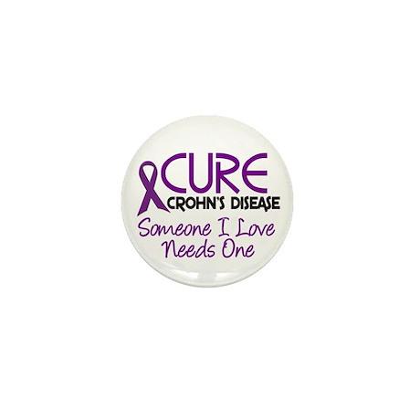 Cure Crohn's Disease 2 Mini Button