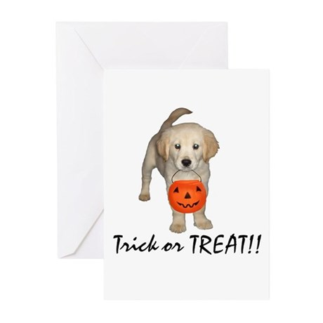 Trick or Treat Puppy Greeting Cards (Pk of 10)