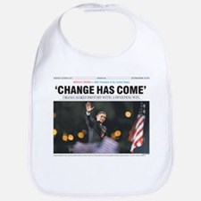 Obama: Change Has Come Bib