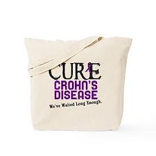 CURE Crohn's Disease 3 Tote Bag