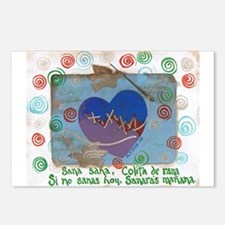 Sana Sana Heal Heal Postcards (Package of 8)