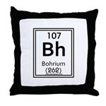 Bohrium Throw Pillow