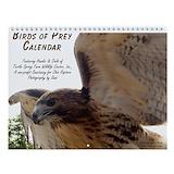 Bird of prey Wall Calendars
