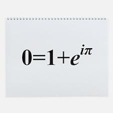 Euler Formula Wall Calendar