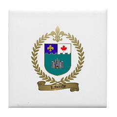 LABRECHE Family Tile Coaster