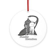 Bigfoot Family Reunion Ornament (Round)