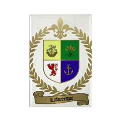 LABRECQUE Family Rectangle Magnet (100 pack)
