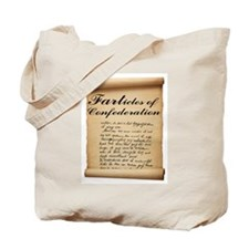 Farticles of Confederation Tote Bag