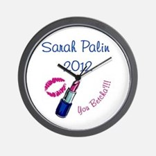 Sarah Palin 2012 - You betcha Wall Clock