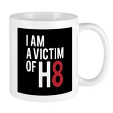 Unique Victim of h8 Mug