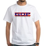 GOP Repulican White T-Shirt