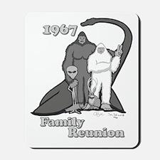 1967 Bigfoot Family Reunion Mousepad
