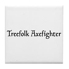 Treefolk Axefighter Tile Coaster