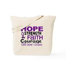 HOPE Crohn's Disease 3 Tote Bag