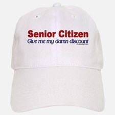 Senior Citizen Discount Baseball Baseball Cap