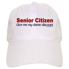 Senior Citizen Discount Baseball Cap