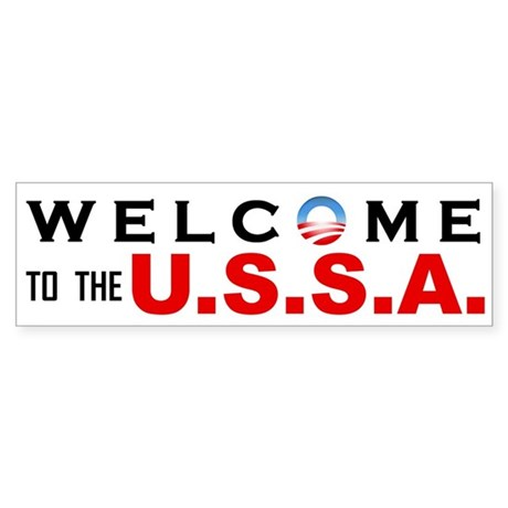 Welcome to the USSA Bumper Sticker