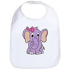 Cute Elephant Bib