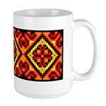 Folk Design 5 Large Mug