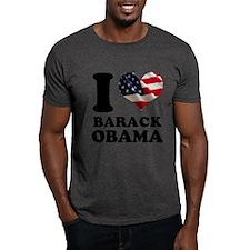 I love Barack Obama American T-Shirt