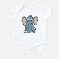 Cute Elephant Infant Bodysuit