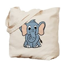 Cute Elephant Tote Bag