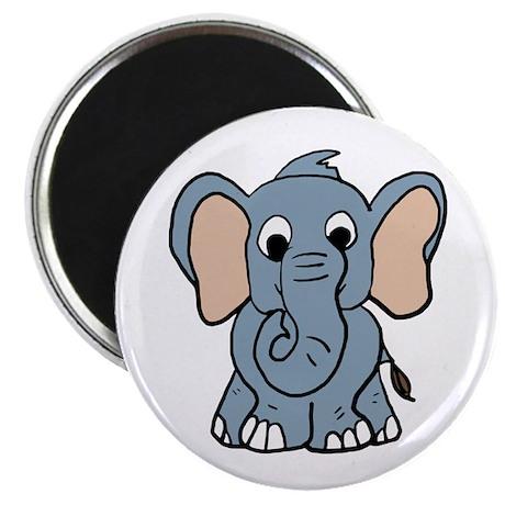 "Cute Elephant 2.25"" Magnet (10 pack)"