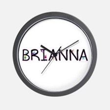 Brianna (Girl) Wall Clock