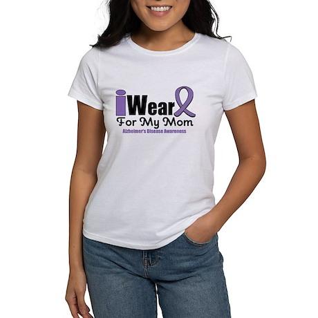 I Wear Purple Mom Women's T-Shirt