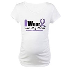 I Wear Purple Mom Shirt
