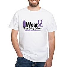 I Wear Purple Mom Shirt