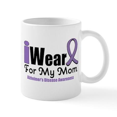 I Wear Purple Mom Mug