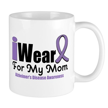 I Wear Purple Mom Mug