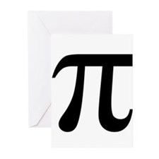 Pi Greeting Cards (Pk of 10)