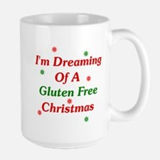 Dreaming Of A Gluten Free Christmas Large Mug