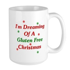 Dreaming Of A Gluten Free Christmas Mug