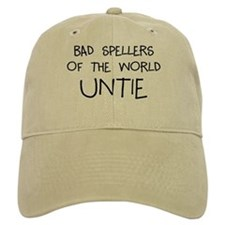 Bad Spellers Baseball Cap