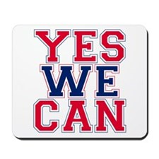 YES WE CAN Mousepad