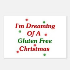 Dreaming Of A Gluten Free Christmas Postcards 8 Pk