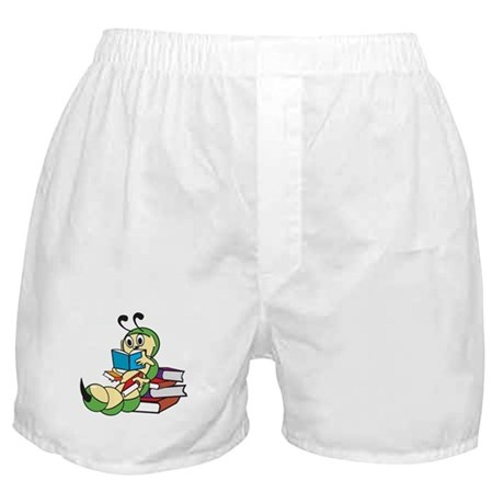 Cute Bookworm Boxer Shorts