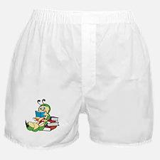 Cute Bookworm Boxer Shorts