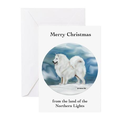 Samoyed Christmas Cards (Pk of 10)