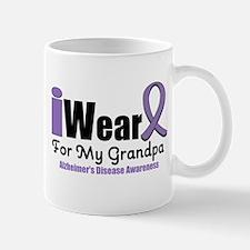 I Wear Purple (Grandpa) Mug